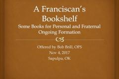 A Franciscan's Bookshelf_1_web