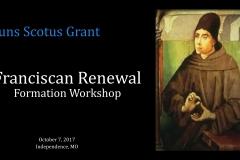 Franciscan Renewal Formation Workshop-Independence_1