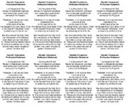 Secular Franciscan Order Profession Statement