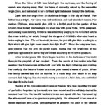 Transitus of St. Clare Readings
