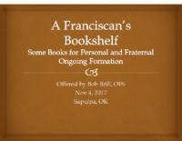 A Franciscan's Bookshelf