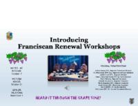 Franciscan Renewal Workshop Opening