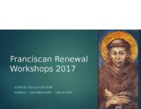 Franciscan Renewal Workshops 2017