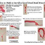 How to Make a Sacrifice-Good Deed Bead Bracelet