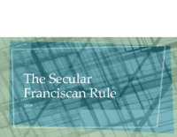 The Secular Franciscan Rule