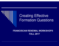 Writing Effective Formation Questions