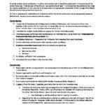 Checklist fo Preparation Profession