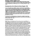 Primary Writings Excerpts of Junipero Serra