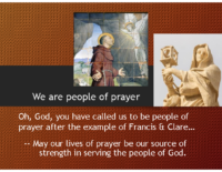 We are people of prayer